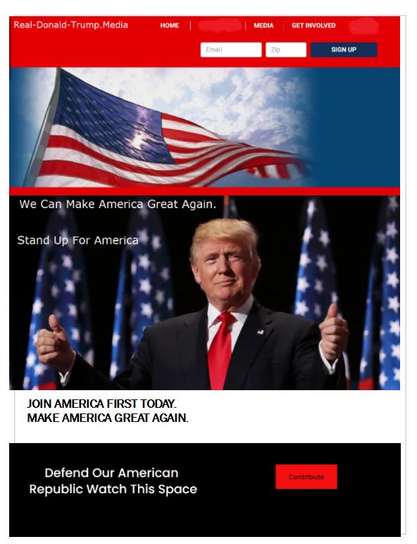 #TrumpsLastDay #TrumpCrimeFamily #TrumpsNewArmy  #Trump  Trump News Media Supporters Partner with Trump News Media: Republican Party Social Issues and Political Issues. Please Retweet.