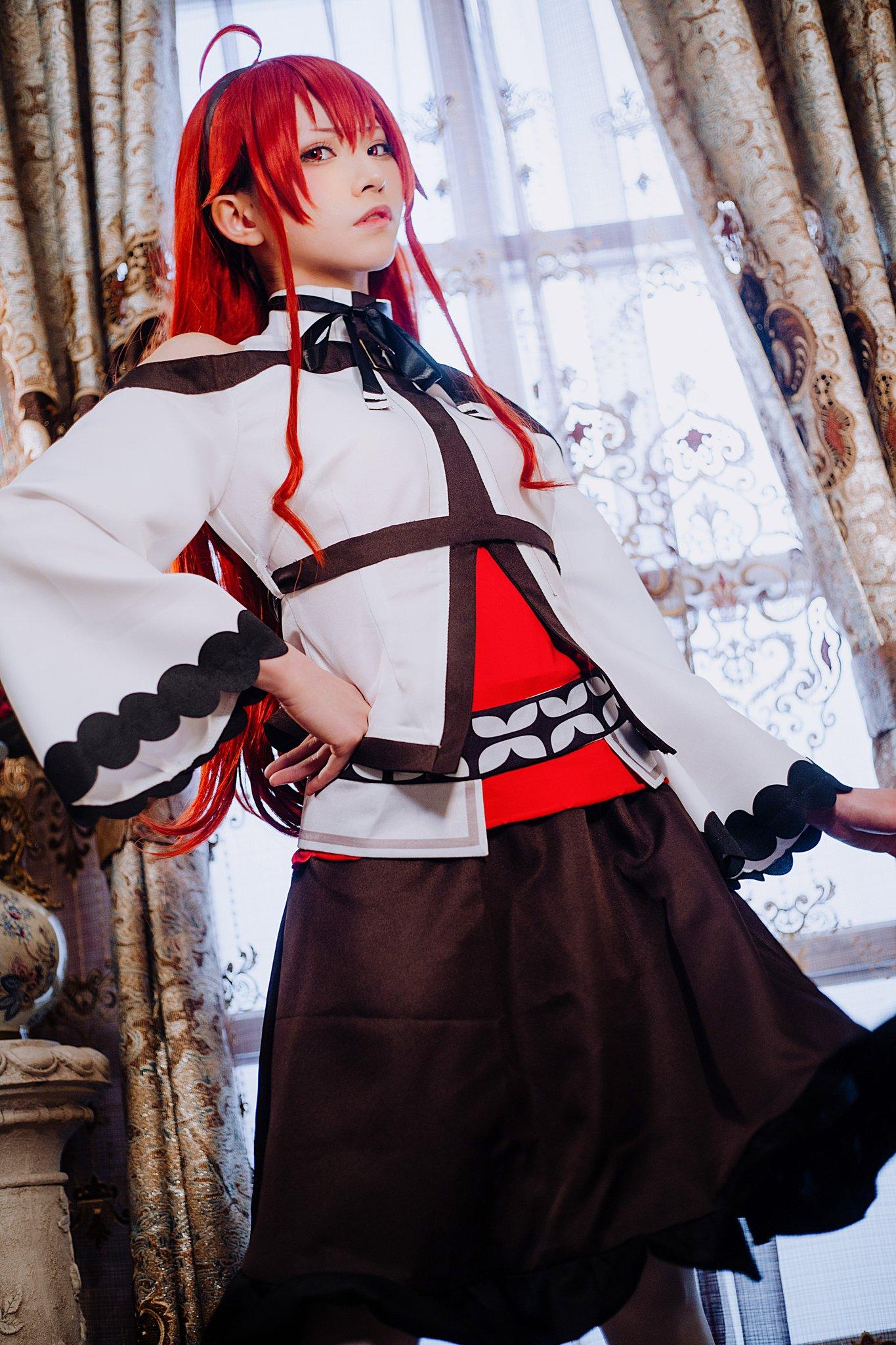 """画像,#無職転生  #アリス #cosplay """"あなたをアリスと呼ぶことを特に許した""""coser:@kitaro_cos phx.:@CcLos…"""