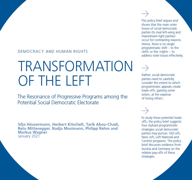 Brief 2 investigates how SD parties positions affect their support. Among voters that form the potential social democratic electorate economically leftwing and culturally progressive positions generate more support than left-authoritarian strategies bit.ly/2Nx3FYO 3/5