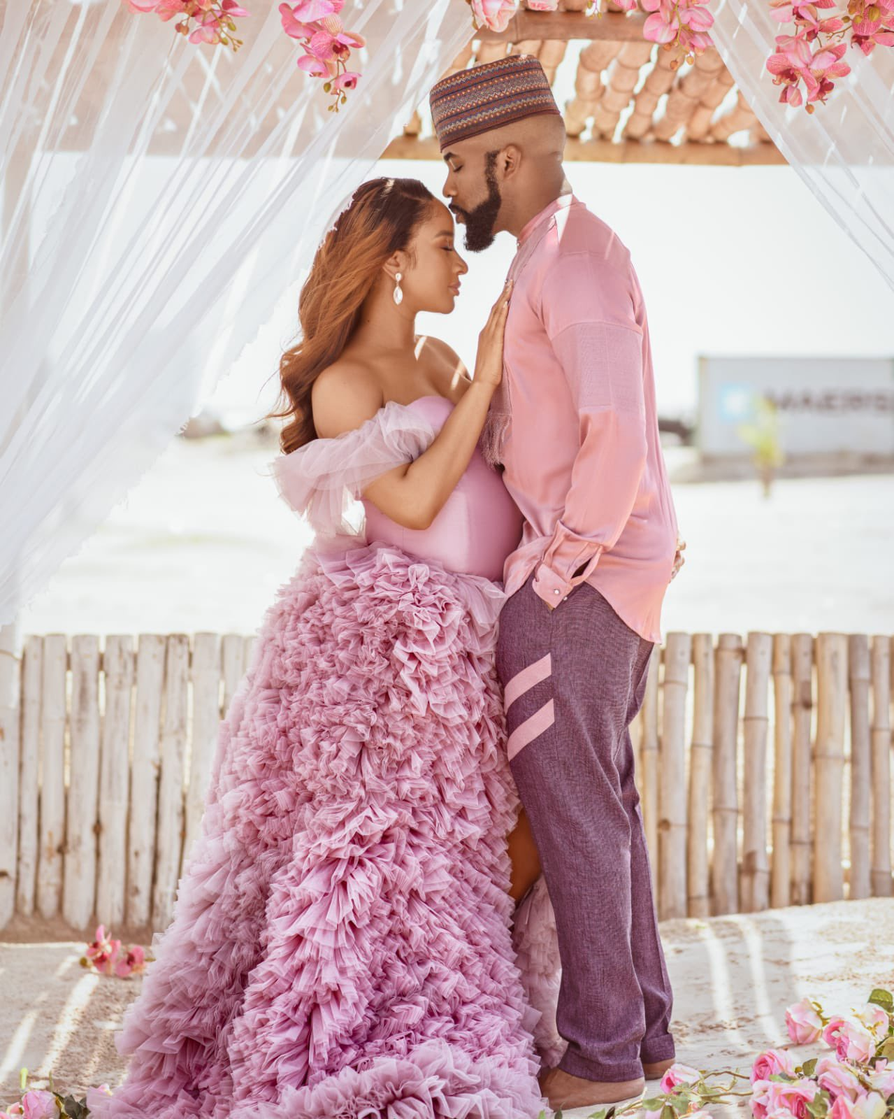 "Banky W Drops ""Final Say"" To Celebrate Delivery Of Son With Adesua Etomi"