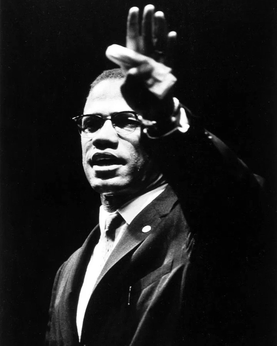Malcolm ❌ Assassinated on this day-1965 Rest in Power #malcomx