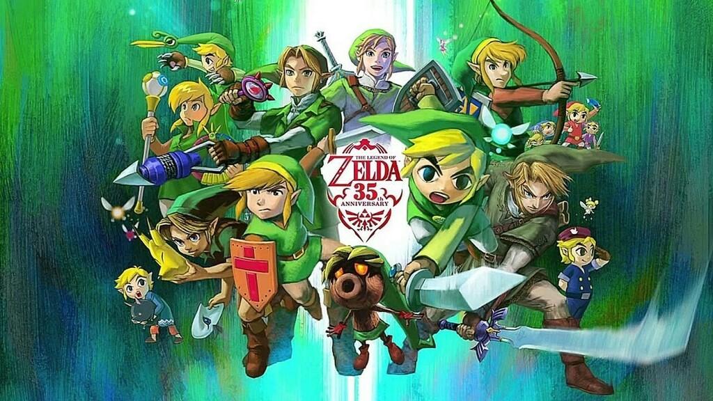 We would like to wish a very happy 35th anniversary to The Legend of Zelda! What stands out as your favourite entry? . . . #zelda35 #zelda #legendofzelda #anniversary #35 #nes #nintendo #ocarinaoftime #twilightprincess #breathofthewild #nintendowii #nint…