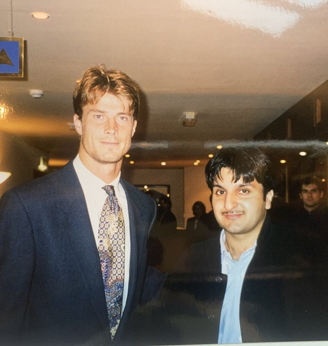 Also wanted to wish our ex player Brian Laudrup a very happy birthday today as well.