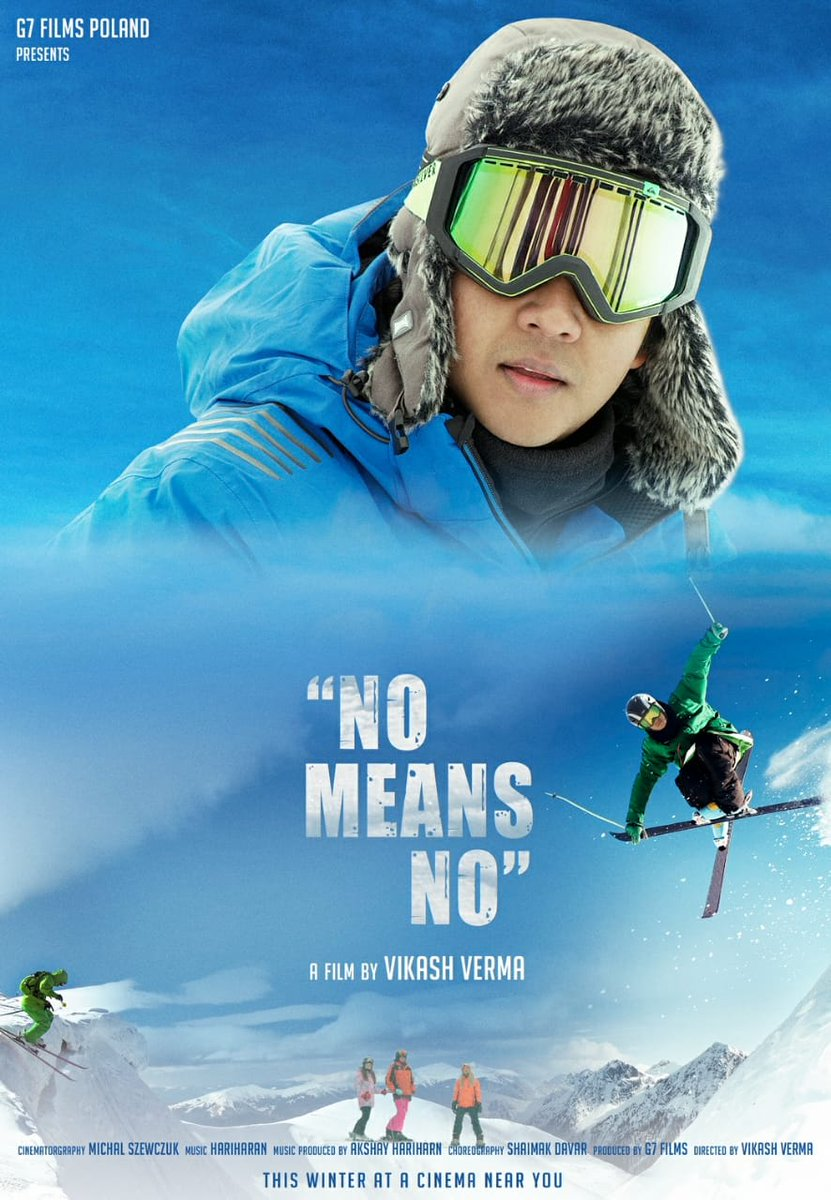 INDO - POLISH FILM... #NoMeansNo - an Indo-Polish production - was filmed in #Poland and #India in three languages: #Hindi, #Polish and #English... Stars debutant #DhruvVerma, #GulshanGrover, #SharadKapoor and #Polish actors... Directed by Vikash Verma... 22 March 2021 release.