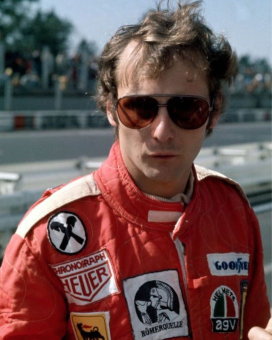 "Happy birthday champ Feb 22 1949 - May 20 2019   \"" Giving up is smh a Lauda doesn\t do \""  - Niki Lauda"