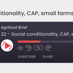 Image for the Tweet beginning: 🎙️'#SocialConditionality's a v. simple principle.