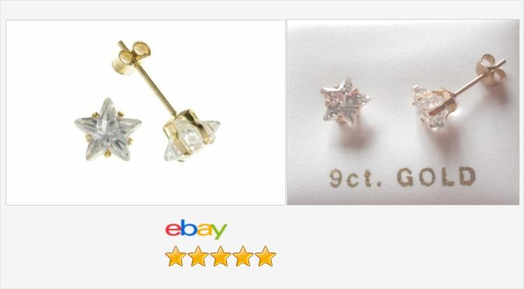 BRAND NEW 9CT GOLD & CUBIC ZIRCONIA STAR STUD EARRINGS - BOXED | eBay #9ct #gold #cubiczirconia #star #stud #earrings #jewellery #finejewelry #jewelry #gifts #giftideas #giftsforher #giftshop #uksmallbiz #fashion #accessories ebay.co.uk/itm/1542792288…