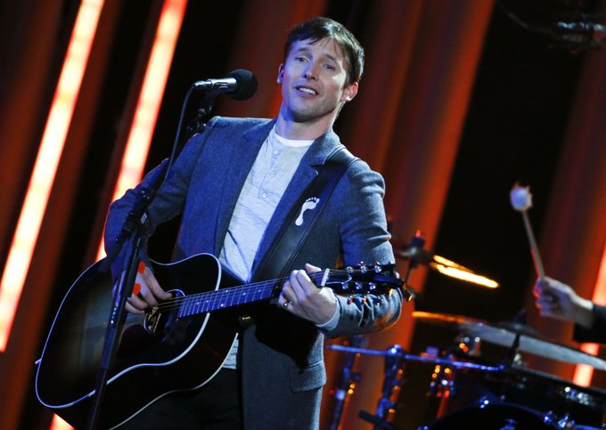 James Blunt is blowing out some birthday candles today. Happy birthday, James! (Reuters Connect)