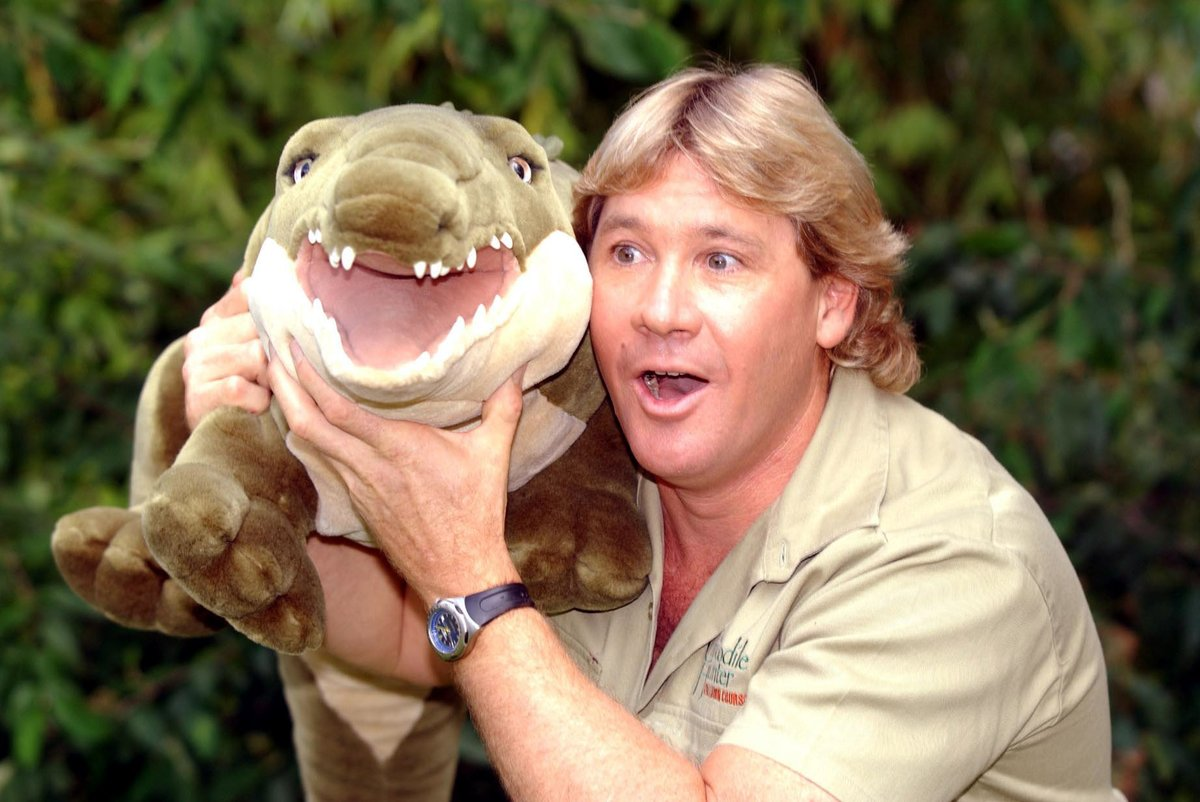 Today would've been Steve Irwin's 59th Birthday.  The Crocodile Hunter's legacy will live on forever.   RIP Mate.
