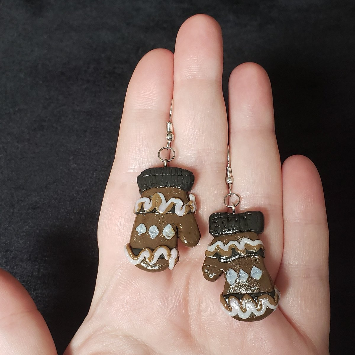 Different version of our Bernie's mitten earrings. Which ones are cuter?  🧤🤎🧤🤎🧤🤎🧤🤎🧤🤎🧤 #smallbusiness #shopsmall #promote #promoteyourbusiness #noxoccultus #earrings #mitten #bernie #berniesanders #berniesandersmemes