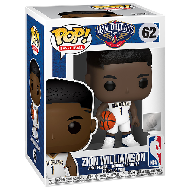 Steal! Zion Funko Toy Figurine $4.99 at footlocker 3