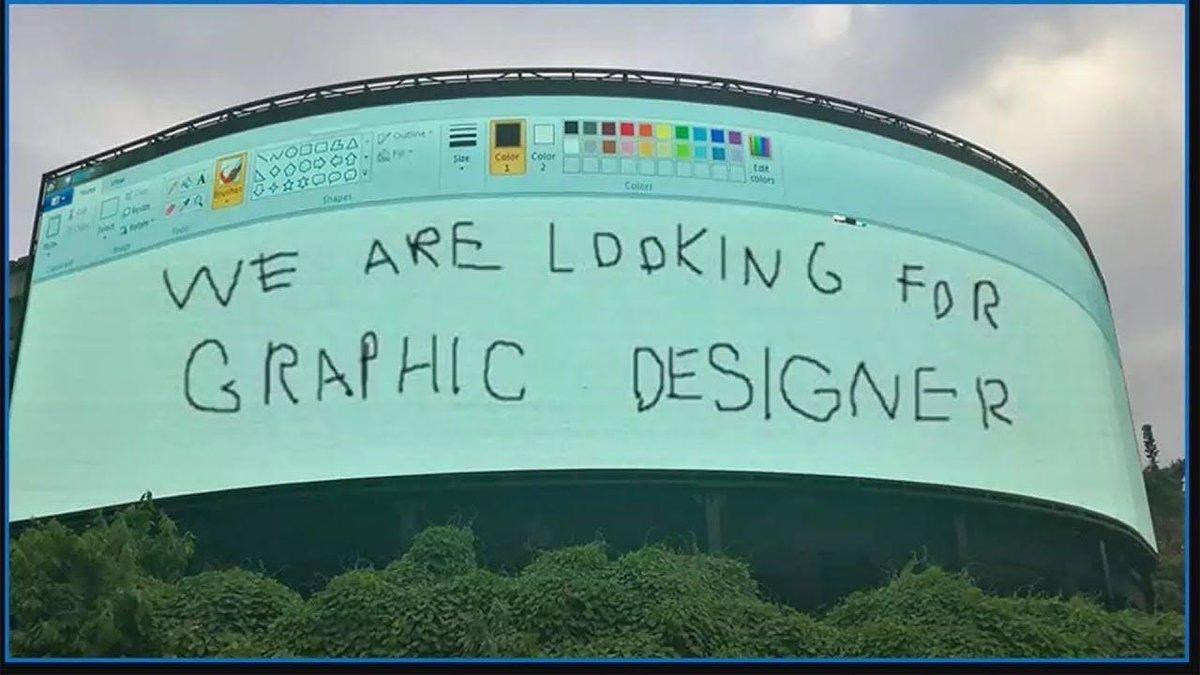 説得力がある?デザイナー募集広告が適当すぎる!
