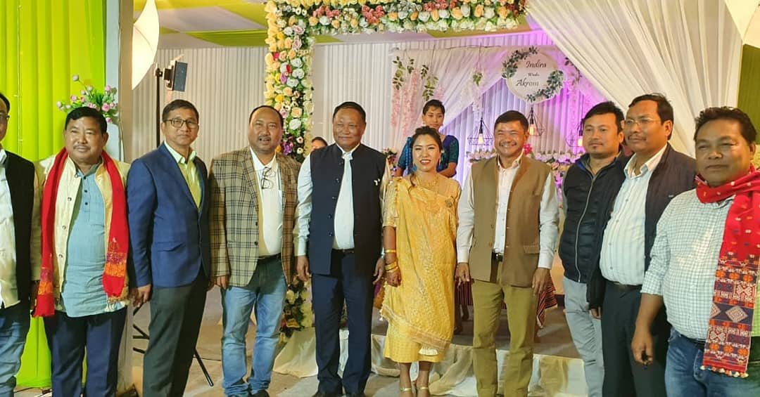 Congratulations Dr Indira, my sister-in-law, and Akrom Kro on their Wedding today, in Chengbong, Kheroni, West Karbi Anglong.