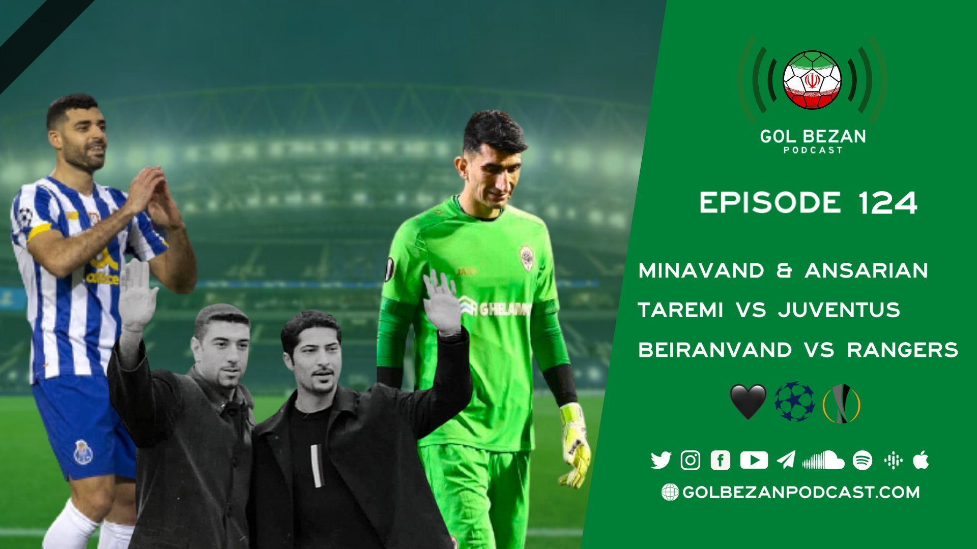 Taremi & Beiranvand in Europe   Remembering 2 Greats