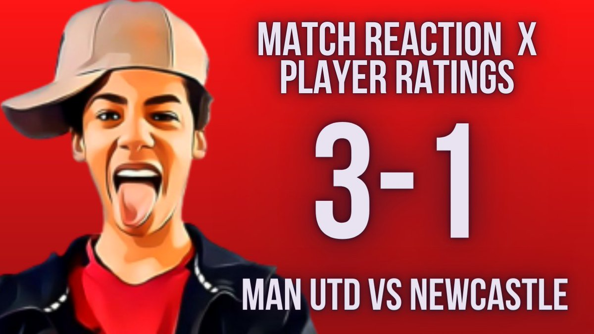 Man United Vs Newcastle Match Reaction and Player Ratings ● Live at 3pm on GNA TV! 🔵🔴 https://t.co/7HhWtrQpWv