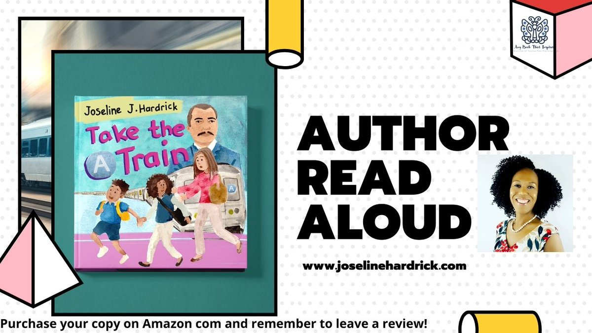 "🎉Check out this Read Aloud of my new book Take the ""A"" Train! In this book, Auntie decides to take her niece and nephew on a fun trip on the ""A"" train to the @SchomburgCenter  in #Harlem for #MLKDay.  #BlackHistory  #AfricanAmericanReadIn #BHM"