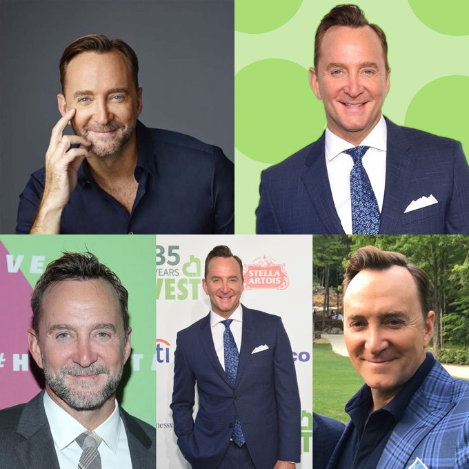 Happy 52 birthday to Clinton Kelly . Hope that he has a wonderful birthday.