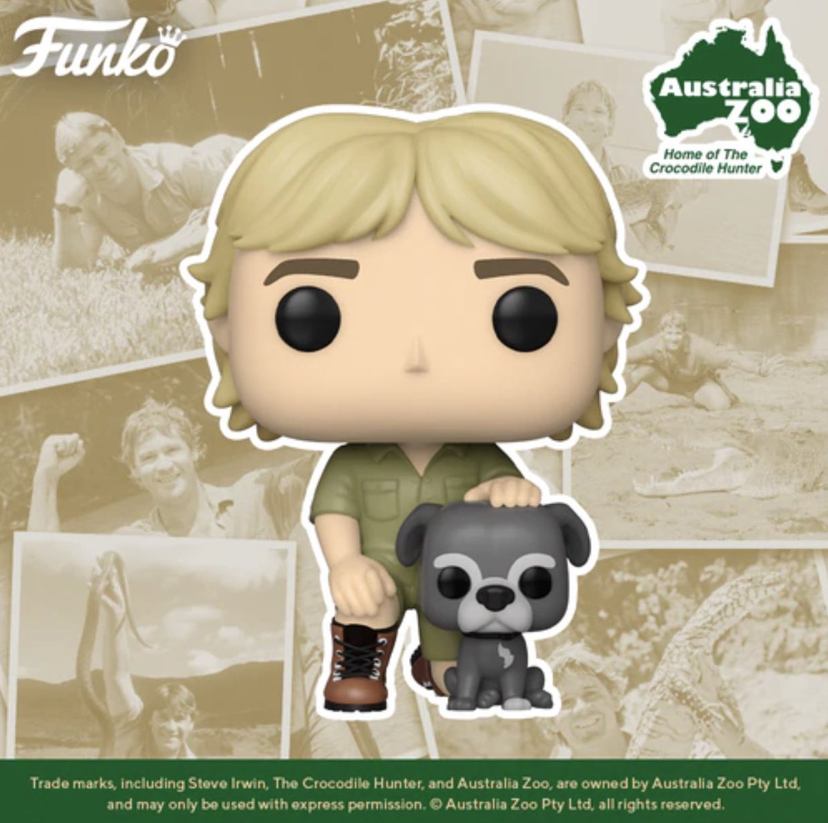 Coming Soon: Steve Irwin with Sui! Preorder Now! #Funko   .
