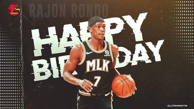 Join Hawks Nation in wishing 2x NBA Champion, and 4x All-Star, Rajon Rondo, a happy 35th birthday!