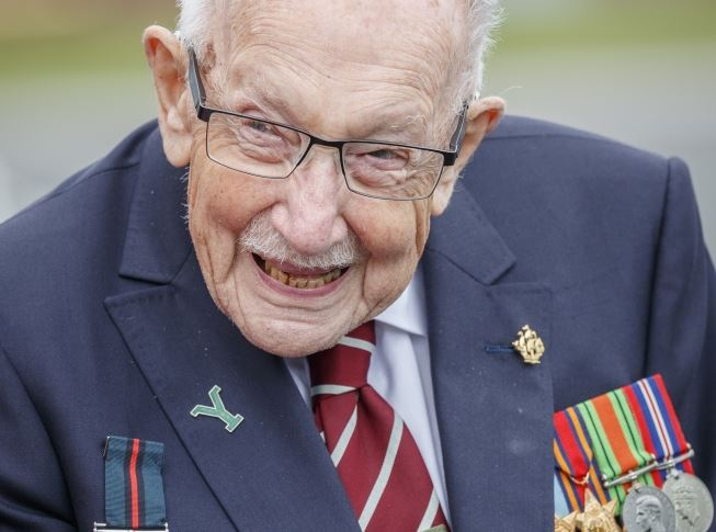 "A ""small family funeral"" for West Yorkshire-born Capt Sir Tom Moore will take place on Saturday, his family confirms:"