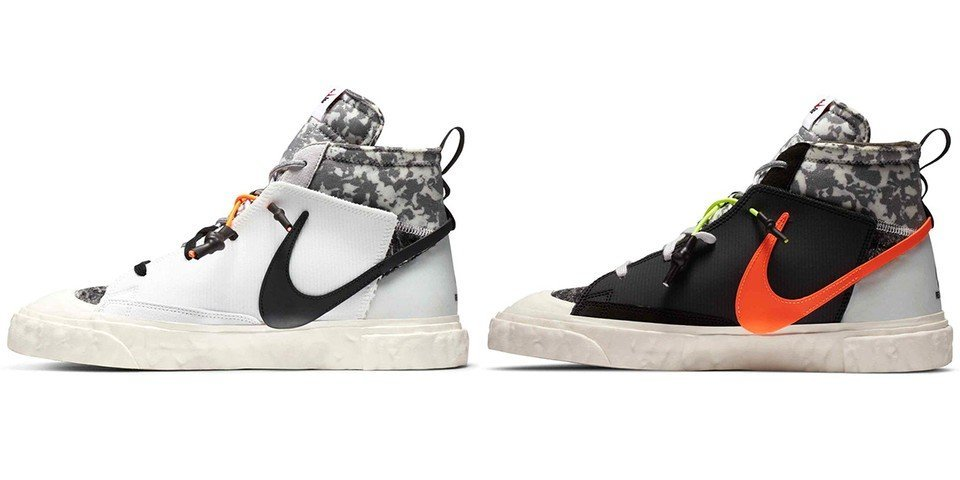 NakedCPH online raffle live for the Nike x ReadyMade Blazer Mid (CZ3589-001 + CZ3589-100)