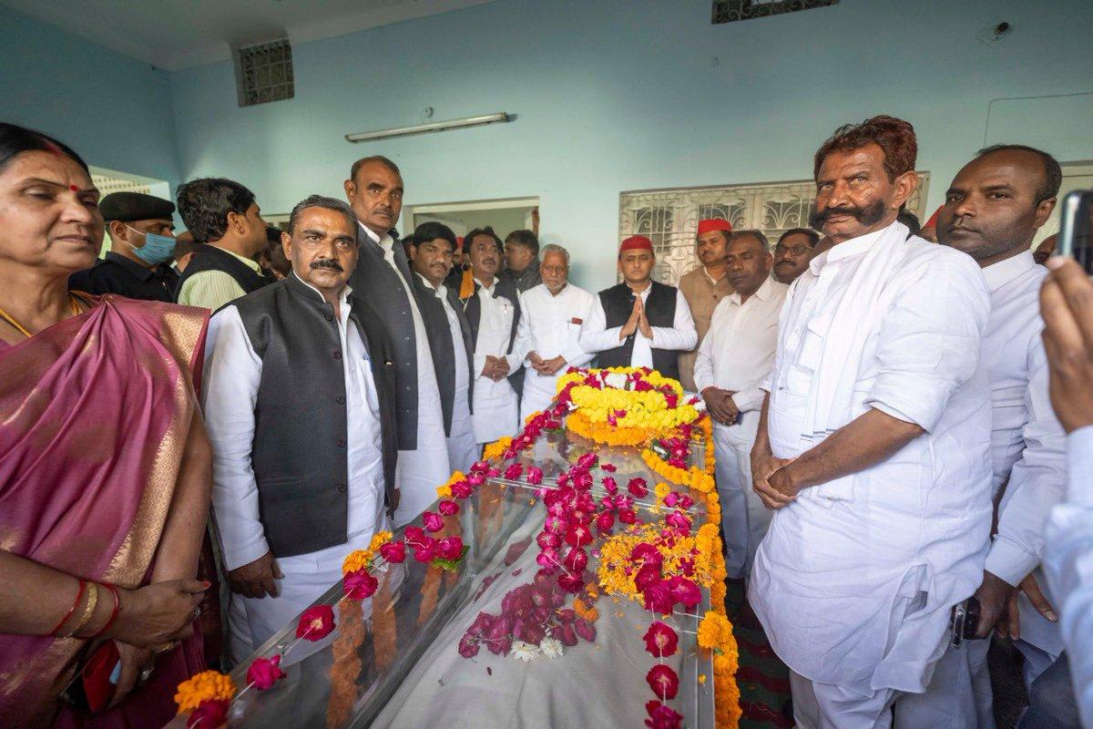 पूर्व केंद्रीय मंत्री एवं वरिष्ठ समाजवादी श्री राम पूजन पटेल जी का आकस्मिक निधन अत्यंत दुःखद! शोकाकुल परिजनों के प्रति संवेदना।  ईश्वर दिवंगत आत्मा को शांति और शोक संतप्त परिजनों को  इस दुःख की घड़ी में संबल प्रदान करे।  भावभीनी श्रद्धांजलि!