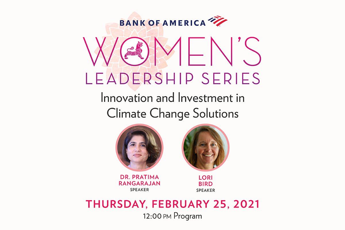 Dr Pratima Rangarajan, CEO at OGCI Climate Investments, will be speaking tomorrow at @AsiaSociety's Bank of America's Women's Leadership Series - details below.   To learn more about Pratima's perspective and the Climate Investments portfolio, click here: https://t.co/dng4Z50nwS