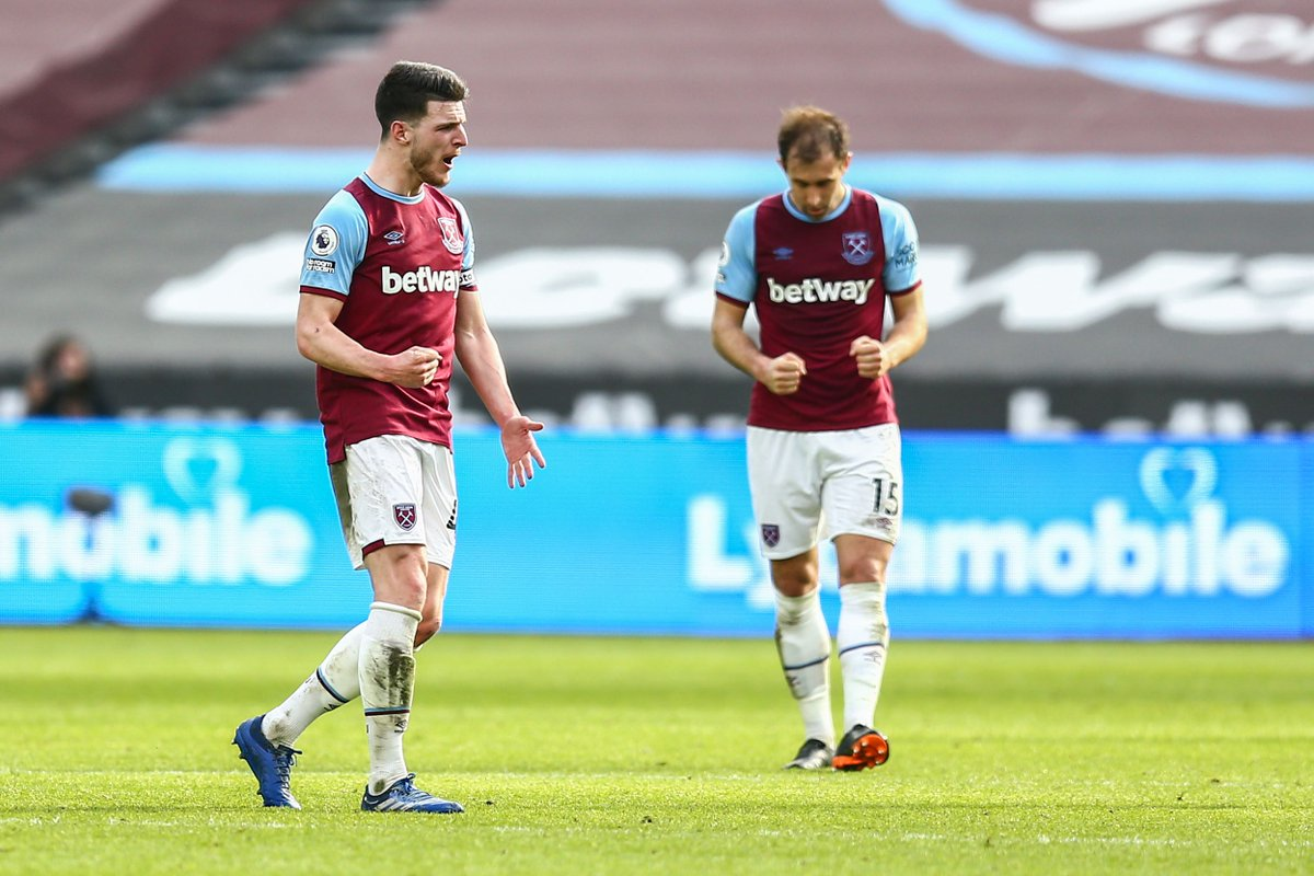 Covering every blade of grass, @_DeclanRice 💪