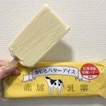 本当にバター食べてるみたい?濃厚すぎるバターアイス!