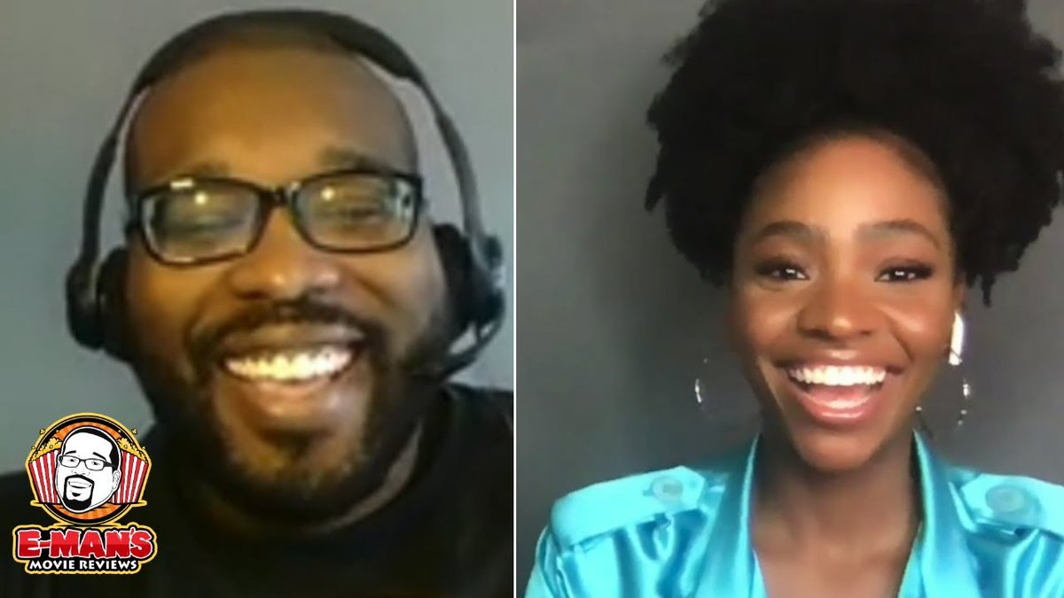 Check out this fun #WandaVision interview I had with Teyonah Parris as we talk about #MonicaRambeau being triggered by Captain Marvel and a potential love interest. 😉  Watch here:   Be sure to visit @theaafca YouTube channel for more