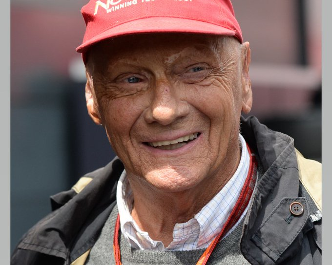 Happy 72nd birthday Niki Lauda