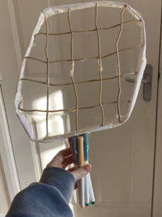Or why not get creative and join our students in 'making a load of racket' - with the racket challenge! Here are some of their best efforts from over the half-term  -  just tag us if you want to show off yours! #inventiveart ✏️🎨🧵