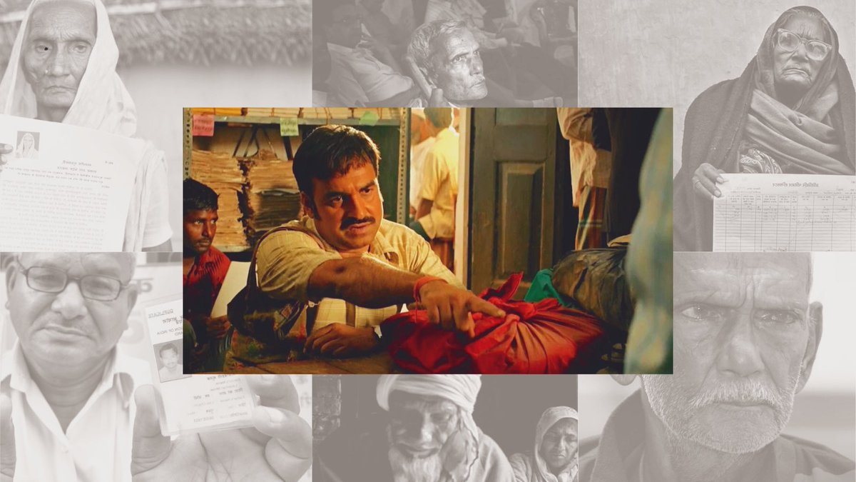 The movie Kaagaz talked about a common man's 18-year-long fight against bureaucracy and corruption to prove that he is alive.Thousands of people have been declared dead in India,despite the fact that they are alive. Experience the agony of the 'living dead'  #Kaagaz #commonman