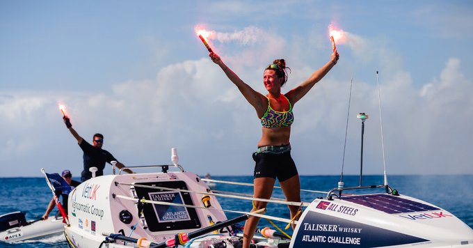 She Rowed Across the Atlantic, Joining a New Wave of Extreme Endurance Athletes Photo