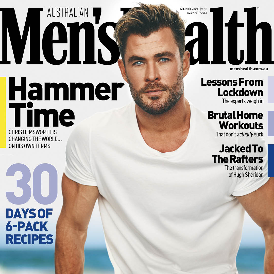 Cover star: our new global ambassador @chrishemsworth fronts the latest issue of @MensHealthAU, wearing BOSS #ThisIsBOSS