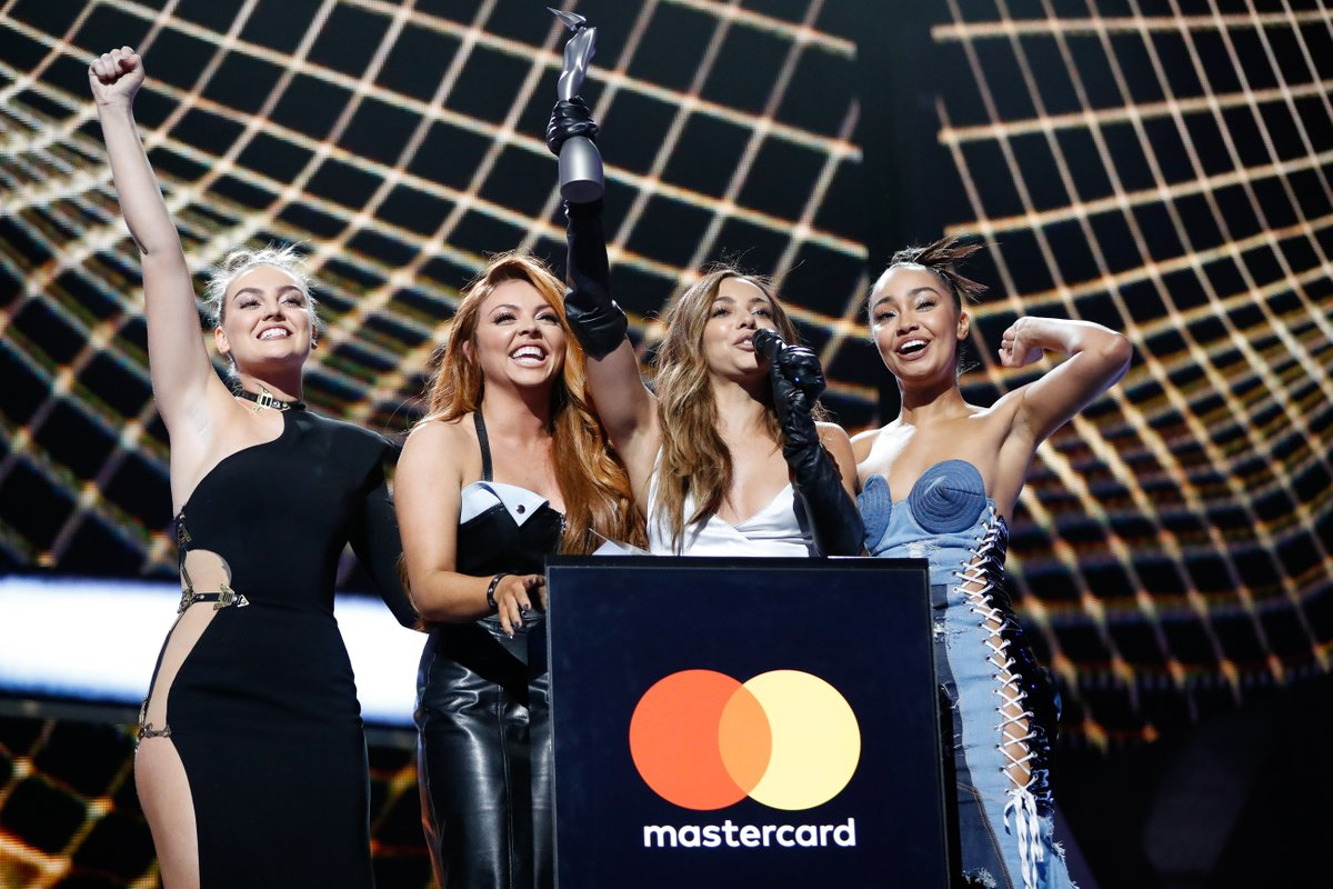 👀 @LittleMix won their first award at the 2017 #BRITs with British Single for 'Shoutout To My Ex' and opened that year's show performing the bop! 💞