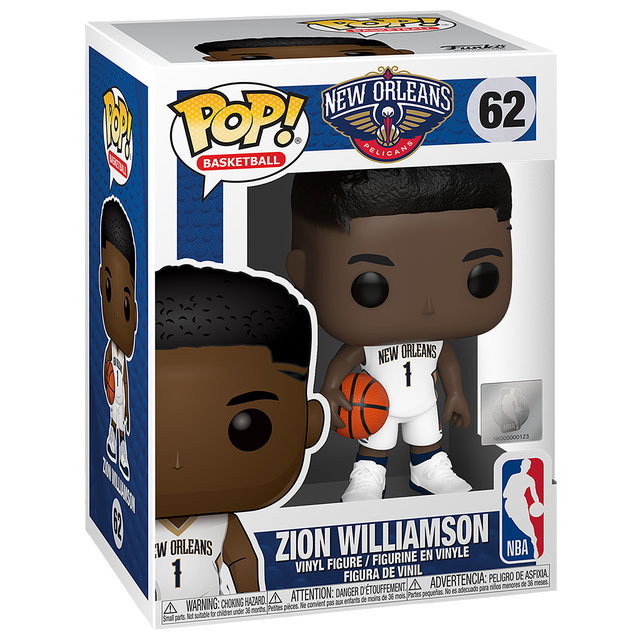 Zion Williamson Funko POP on sale for $4.99. FREE shipping for members   Link   3