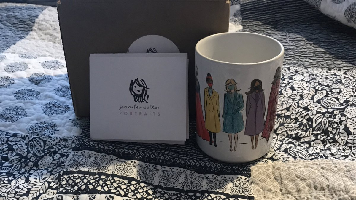 For anyone looking for a coffee mug with the women from the inauguration this is the place. #BidenHarrisInauguration #WhoRulesTheWorld