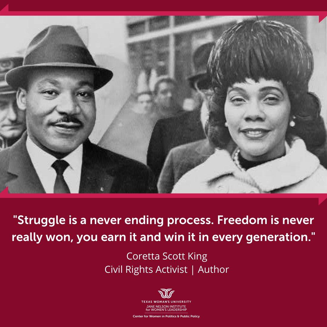 ✨ Monday Empowerment ✨  #mondayempowerment #corettascottking #blackhistorymonth #blackwomenshistory #blackwomenlead #womenshistory #womenwholead  Image courtesy of the Library of Congress (LC-USZ62-116775)