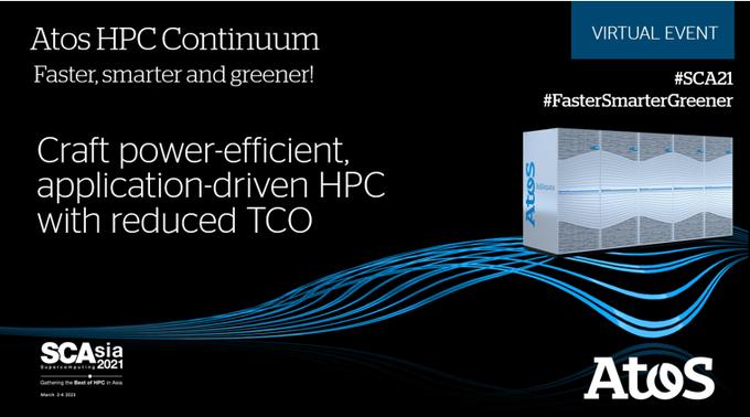 工艺节能,应用驱动的HPC,具有缩小的TCO。@Atos powers Europe's fastest...