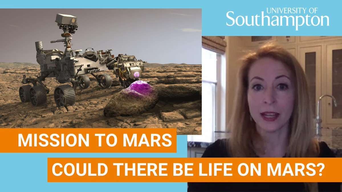 Last week @NASA successfully landed a rover on the planet Mars. But what will @NASAPersevere find? Dr Jessica Whiteside, Associate Professor of Geochemistry, explains the capabilities of the rover and what it means for the future of space exploration. #Perseverance 🚀👩🚀🛰