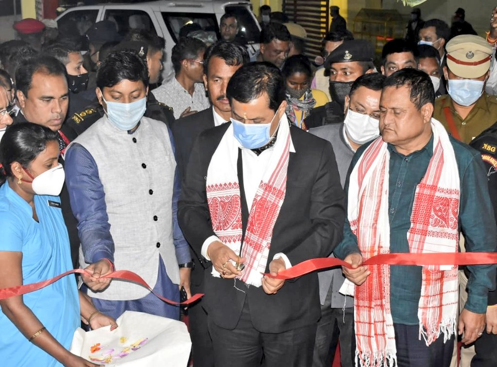 MOITRI is empowering police stations across Assam in offering improved services to the people, strengthening public-police relations. Reiterating the same, CM Shri @sarbanandsonwal inaugurated the new building of Biswanath Chariali PS under the scheme.