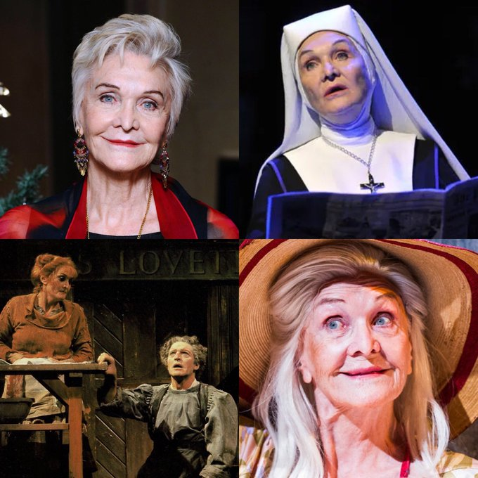 Happy Birthday to the glorious DAME SHEILA HANCOCK, legend of TV stage and TV.