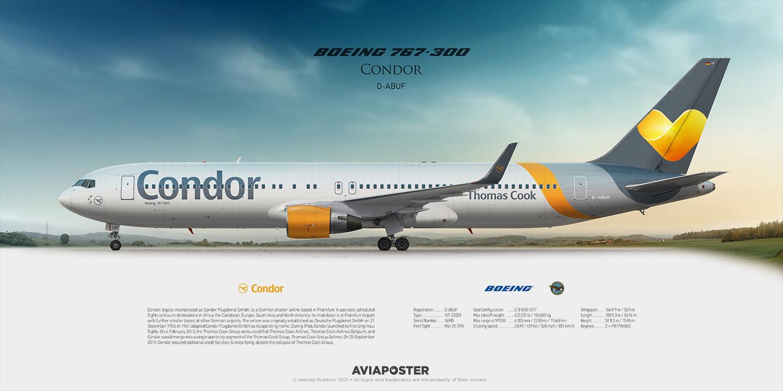 767 seats condor xl Condor