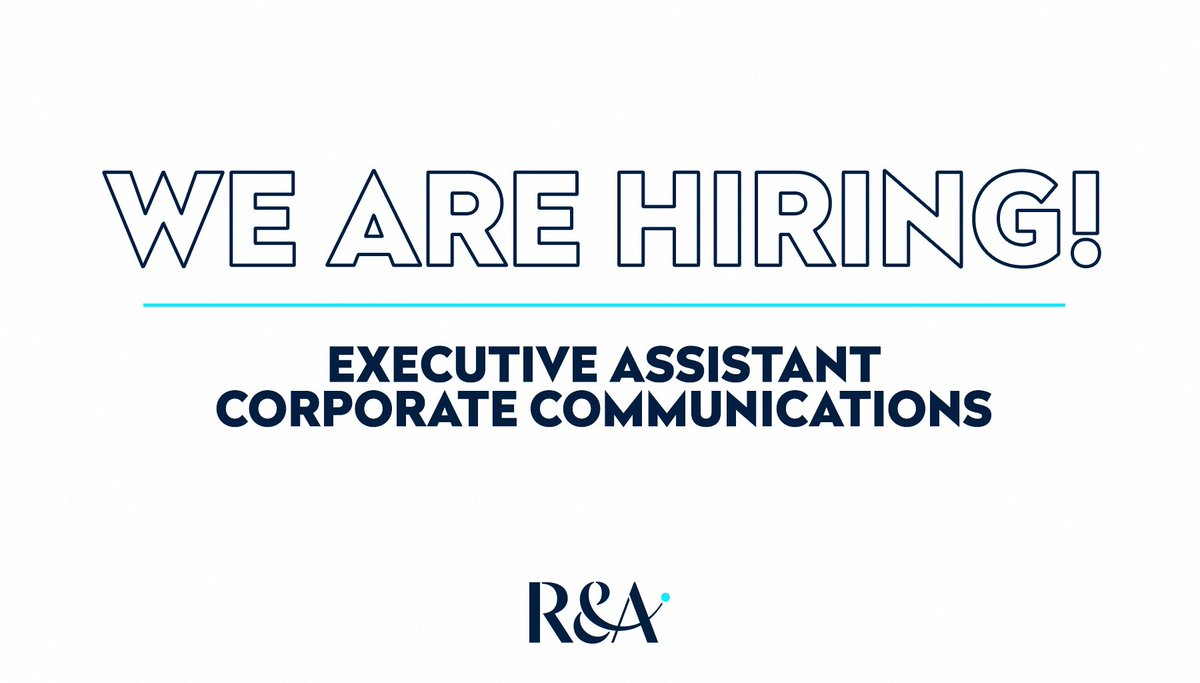 Here's an opportunity to join our Corporate Communications team⛳️  For more details and to apply, follow the link 👉