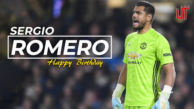 Happy birthday to Sergio Romero!