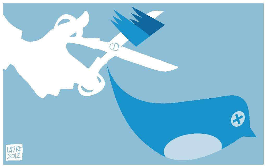 Los censores de @TwitterEspana han suspendido las cuentas de @iBarbarellah de @pigdemont_ y de @BCNTabarnia