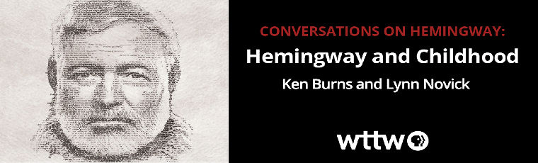 Tomorrow evening, join CPL and @wttw for a conversation with @KenBurns and @LynnNovick about Ernest Hemingway and their new documentary on the writer. Registration has been extended; reserve your spot to preview this portrait of a complex, tortured artist.
