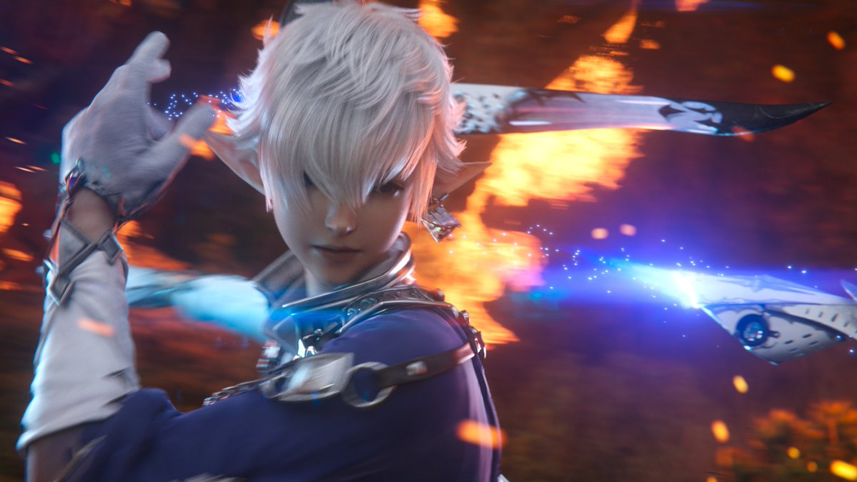 Alphinaud is ready to become a Sage in #Endwalker 🌟