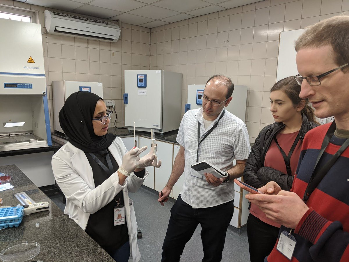 In 2019, @MSF_france received a $1.5M grant & #GoogleorgFellowship through the #GoogleAI Impact Challenge to help bring to life their idea of a new way to help medical staff in low-resource areas prescribe the right antibiotics using #AI.